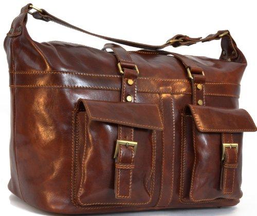 gusti cuir studio sac de voyage bagage main sac sport veritable cuir vintage sac en cuir. Black Bedroom Furniture Sets. Home Design Ideas