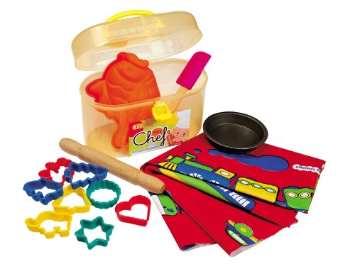 guardini 4223015005 mini chef set de cuisine pour enfants dans sa valise avec 1 petit moule en. Black Bedroom Furniture Sets. Home Design Ideas
