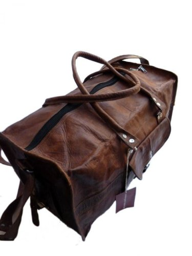 "43c50f00ad Sac de voyage – Gusti Cuir nature ""Henry"" bagage cabine vintage sac ..."