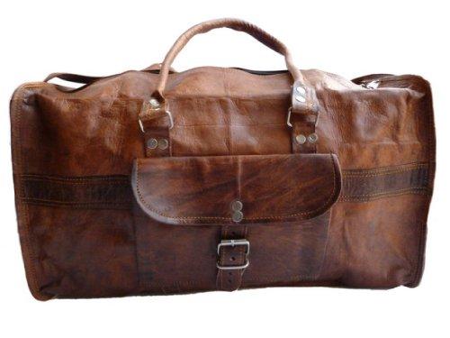 sac de voyage gusti cuir nature henry bagage cabine. Black Bedroom Furniture Sets. Home Design Ideas