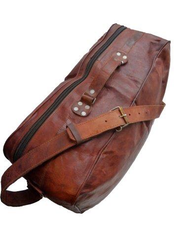 gusti cuir nature alexander sac de voyage bagage main valise cuir v ritable sac port paule. Black Bedroom Furniture Sets. Home Design Ideas