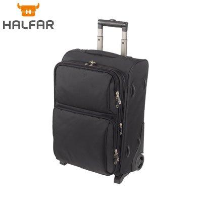 halfar valise cabine trolley roulettes 1806701 coloris noir bagages. Black Bedroom Furniture Sets. Home Design Ideas