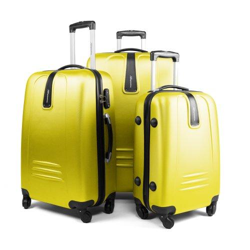hauptstadtkoffer wedding set de 3 valises rigides bagage trolley 4 roues bagages. Black Bedroom Furniture Sets. Home Design Ideas