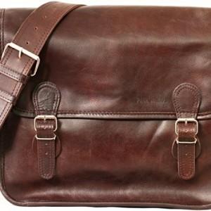 LA SACOCHE (M) cuir couleur INDUS sacoche bandoulière format (A4) PAUL MARIUS v1xapd