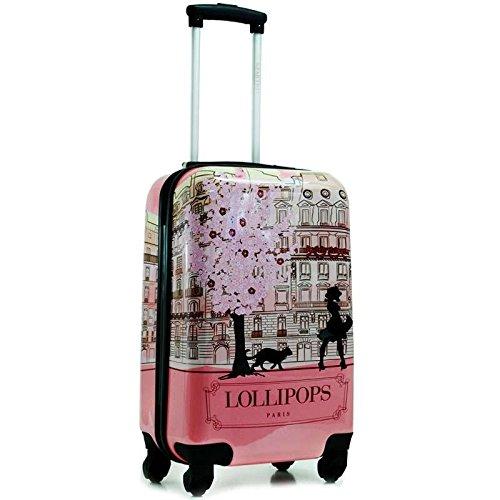 Lollipops valise cabine paris 50cm rose bagages for Valise makita avec tous ses accessoires