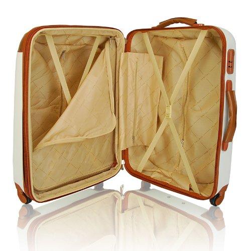 valise trolley xxl 70cm beige bagages. Black Bedroom Furniture Sets. Home Design Ideas