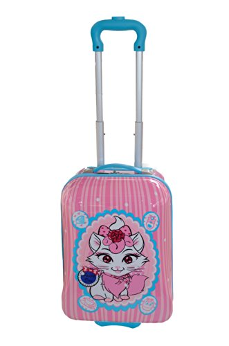 grossiste 8cbe4 71f8b Valise cabine Rose pour fille