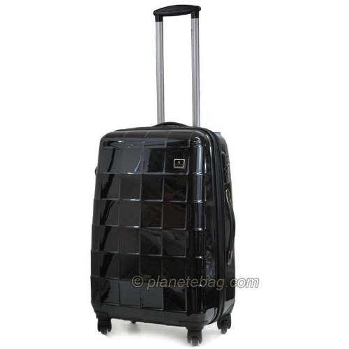 valise rigide ultra l g re 11723 taille moyenne noire bagages. Black Bedroom Furniture Sets. Home Design Ideas