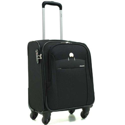 delsey valise cabine belleville 51cm noir bagages. Black Bedroom Furniture Sets. Home Design Ideas