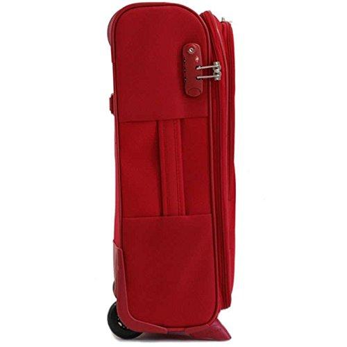58e54abe48 Delsey – Valise Cabine BELLEVILLE Slim 55cm – Rouge | Bagages