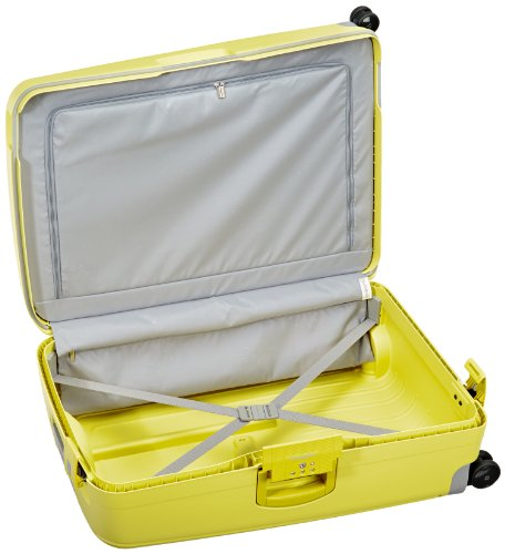 samsonite valise s cure spinner 75 28 75 cm 102 liters jaune lemon 49308 bagages. Black Bedroom Furniture Sets. Home Design Ideas