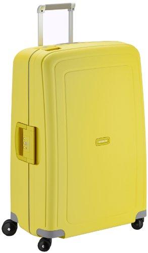samsonite valise s cure spinner 75 28 75 cm 102 liters jaune lemon 49308 bagages. Black Bedroom Furniture Sets. Home Design Ideas