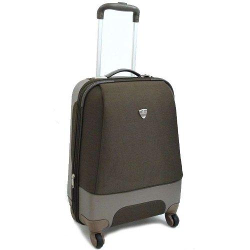 snowball valise ultra legere 50 cm marron bagages. Black Bedroom Furniture Sets. Home Design Ideas