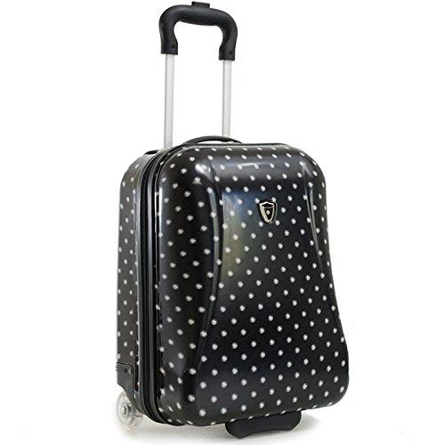snowball valises bagages valise cabine a pois snowball noir bagages. Black Bedroom Furniture Sets. Home Design Ideas