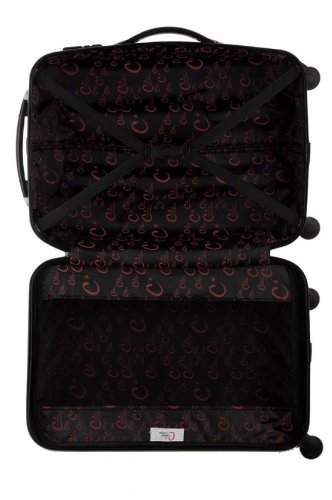 corinne cobson valise shanna argent taille l bagages. Black Bedroom Furniture Sets. Home Design Ideas