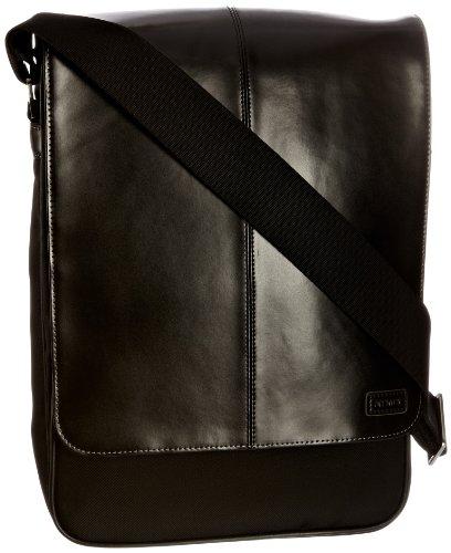knomo sti003 sac bandouli re verticale pour macbook pro 15 noir bagages. Black Bedroom Furniture Sets. Home Design Ideas