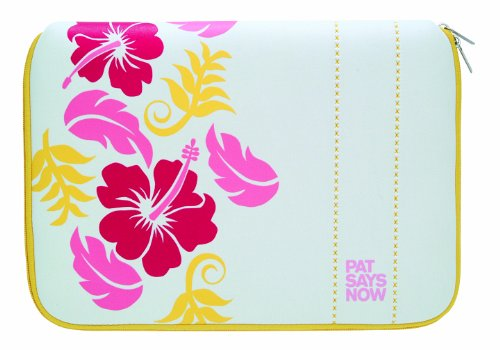 pat says now hawaiiana bag housse pour ultraportable ordinateur portable 12 13 3 blanc. Black Bedroom Furniture Sets. Home Design Ideas