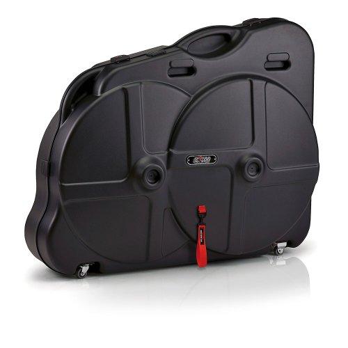 Sci con aerotech housse de transport pour vtt noir bagages for Housse vtt transport