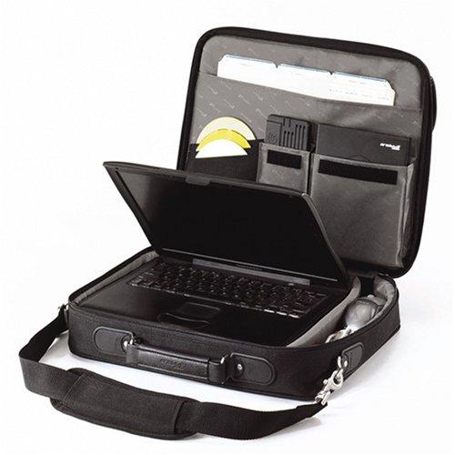 targus notepac clamshell sacoche pour ordinateur portable 15 4 16 noir bagages. Black Bedroom Furniture Sets. Home Design Ideas