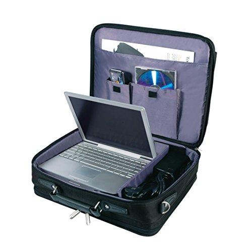 targus notepac plus clamshell sacoche pour ordinateur portable 15 4 16 noir bagages. Black Bedroom Furniture Sets. Home Design Ideas