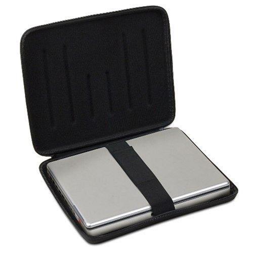 udg housse pour ordinateur portable 17 noire bagages. Black Bedroom Furniture Sets. Home Design Ideas