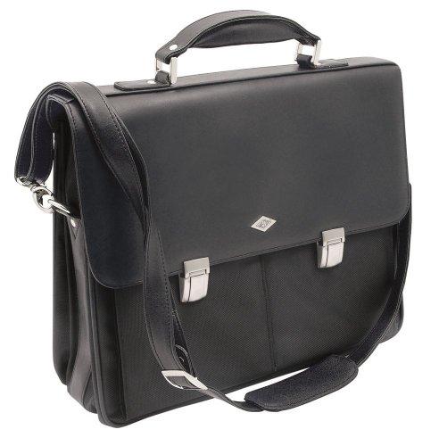 Wedo elegance 0585301 serviette porte documents bandouli re avec sacoche pour ordinateur - Porte ordinateur portable ...