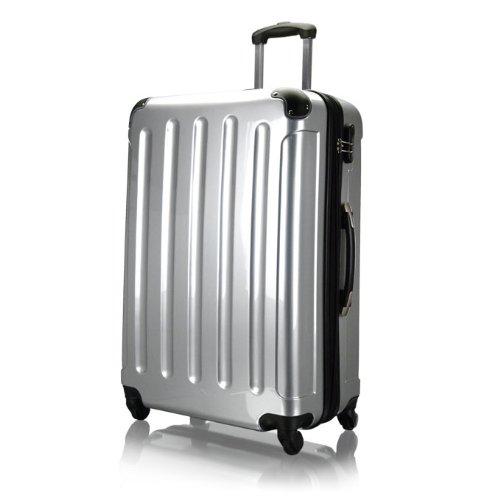 valise trolley polycarbonate xxl 70cm en argent bagages. Black Bedroom Furniture Sets. Home Design Ideas